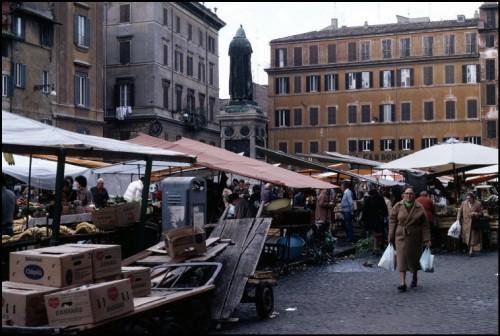 Campo dei Fiori. Foto: Ferdinando Scianna / Magnum Photos.