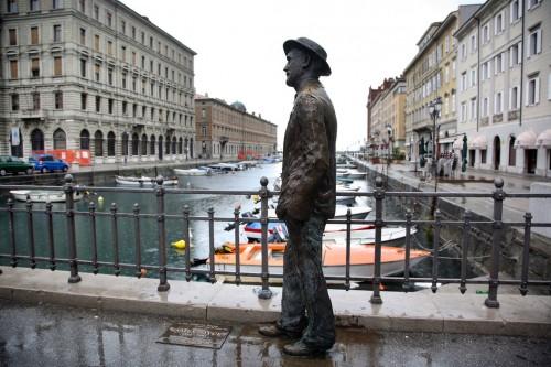 James Joyce v Terste. Foto: Ferdinando Scianna