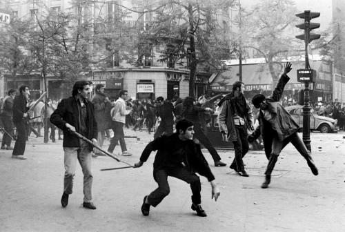 Paríž, 1968. Foto: Bruno Barbey / Magnum Photos
