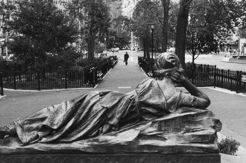 Straus Park, New York, 1997. Foto: Dominique Nabokov