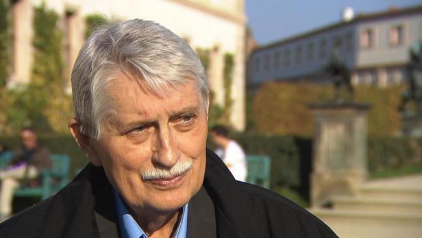 Jiří Dienstbier. Foto: Česká televize