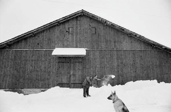 Le Châtelard, Saint-Sigismond,. Foto: Jean Gaumy / Magnum Photos