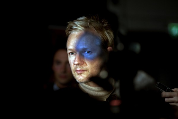 Julian Assange. Foto: Seamus Murphy / Photo Agency.