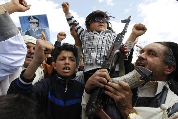 Lýbia. Foto: Goran Tomasevic, REUTERS