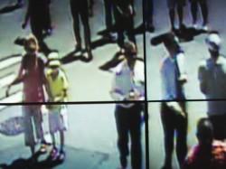 Surveillance screens at NYPD