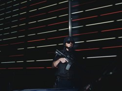 "A ""Hercules"" counter-terrorism team patrols Times Square"
