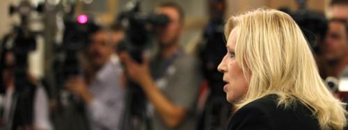 Iveta Radičová. Photo: Petr Josek / Reuters