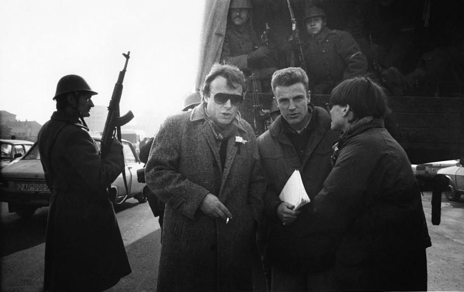 V Rumunsku roku 1989.