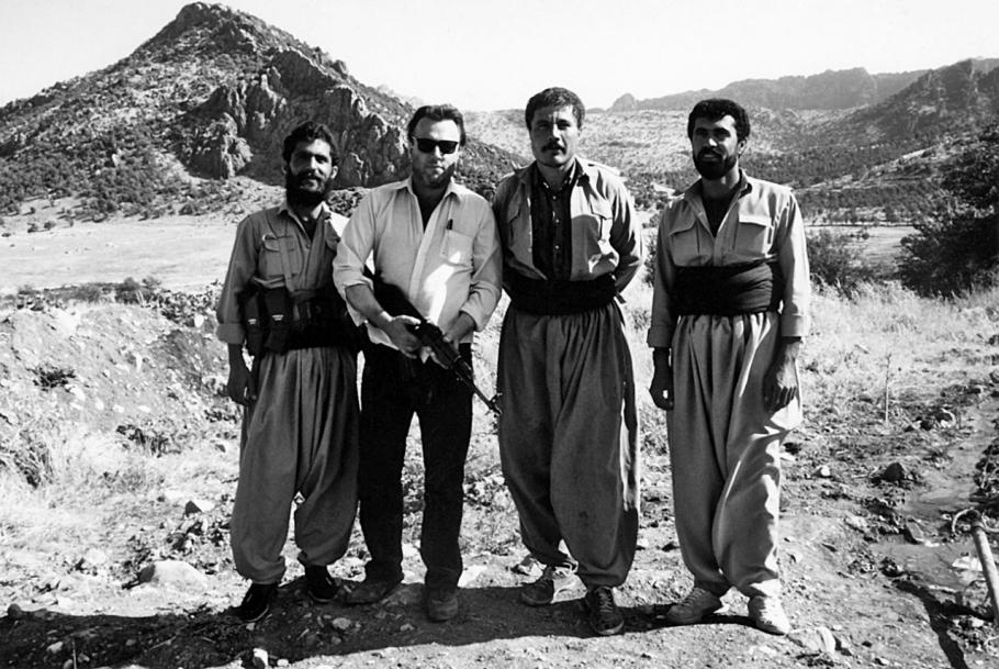 S nepriateľmi Saddáma Husajna.