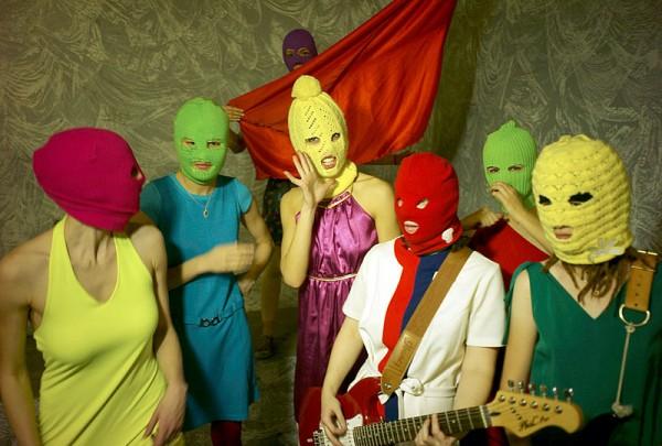 Pussy Riot. Foto Igor Muchin