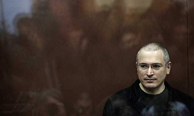 Michail Chodorkovskij. Foto: Sergey Ponomarev / AP