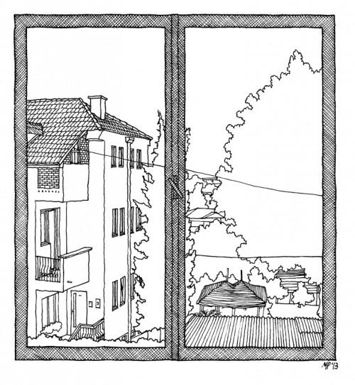 Kresba: Matteo Pericoli