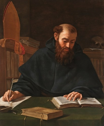 Svätý Augustín od Caravaggia. Foto: The Guardian
