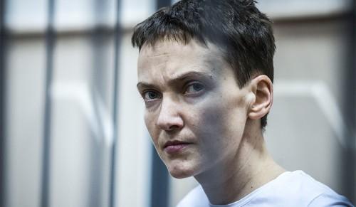 Nadežda Savčenko. Foto: Jevgenij Feľdman / Novaja Gazeta