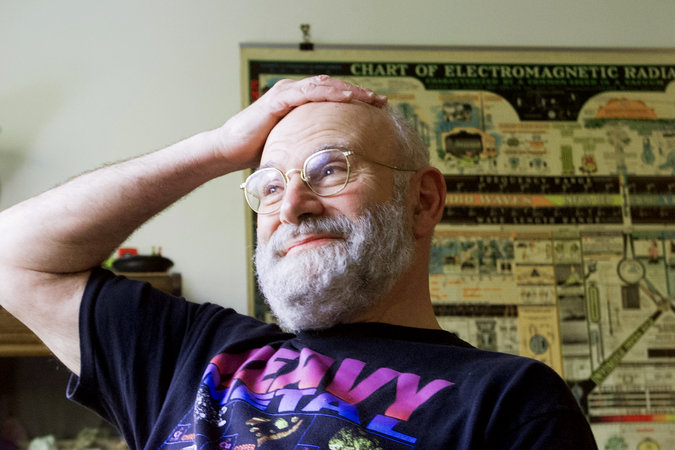 Oliver Sacks v roku 2001.  Foto: Andrea Mohin / The New York Time