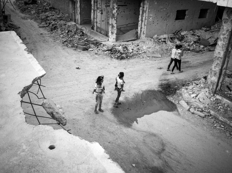Kobane, Sýria. Foto:  Moises Saman / Magnum Photos
