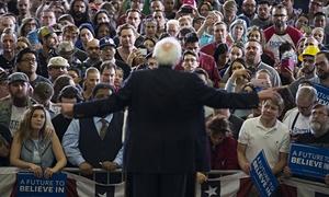 Bernie Sanders. Foto: Evan Vucci / AP