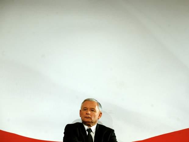 Jarosław Kaczynski. Foto: Janek Skrzynski / AFP / Getty Images