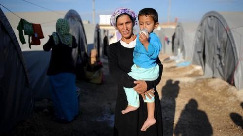 Sýrski utečenci v Turecku. Čo má táto žena spoločné s brexitom? Všetko a nič. Foto: Kutluhan Cucel / Getty Images