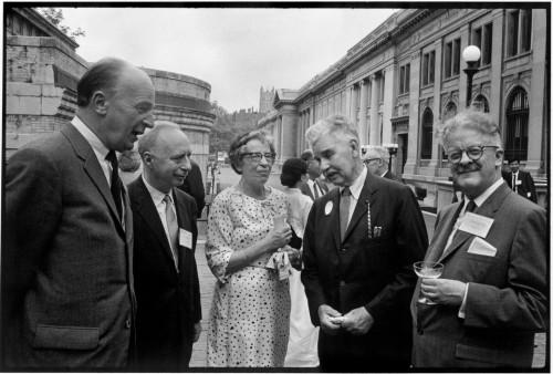 Hannah Arendt na stretnutí Pen Clubu v New Yorku, roku 1966. Foto: Inge Morath © The Inge Morath Foundation