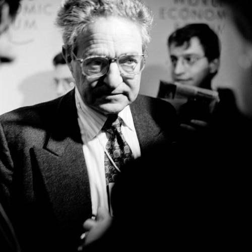 George  Soros v roku 1997. Foto:  Peter Marlow / Magnum Photos