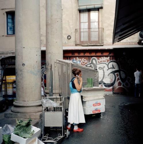 La Rambla, Barcelona, 2006. Foto: Peter Marlow / Magnum Photos