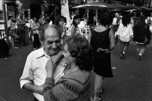 La Rambla, Barcelona, 1984. Foto: Richard Kalvar / Magnum Photos