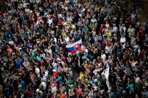 Foto: Vladimír Šimíček Denník N / AFP
